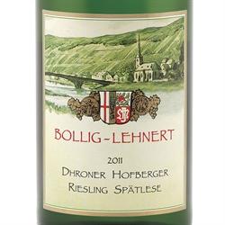 Riesling Spätlese Dhroner Hofberger Bollig-Lehnert