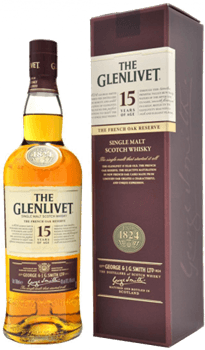 The Glenlivet 15 Ans French Oak Reserve Scotch Single Malt