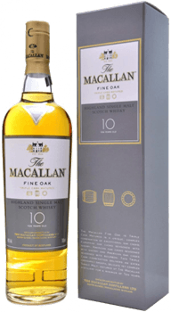 The Macallan 10 Ans Fine Oak Highland Scotch Single Malt