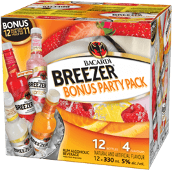 Bacardi Breezer Party Pack