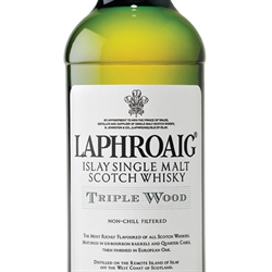 Laphroaig Triple Wood Islay Scotch Single Malt