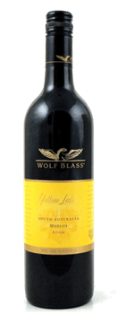 Merlot Wolf Blass Yellow Label South Australia