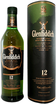 Glenfiddich 12 Ans Highland Scotch Single Malt