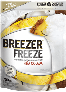 Bacardi Breezer Freeze Pina Colada