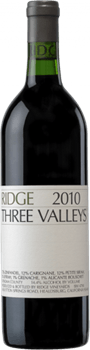 Ridge Vineyards Three Valleys