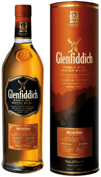 Glenfiddich 14 Ans Rich Oak Highland Scotch Single Malt