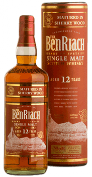 Benriach 12 Ans Sherry Matured Scotch Single Malt