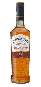 Bowmore 15 Ans Darkest Islay Scotch Single Malt