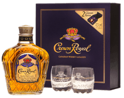 Crown Royal + 2 Verres